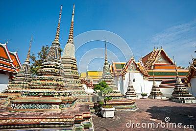 Wat Po,  Bangkok, Thailandia.