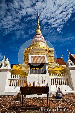 Wat Pong Sanook in Lampang,Thailand