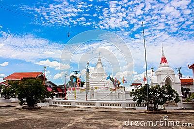 Wat Poramai Yikawat Koh Kret, Bangkok, Thailand Arkivfoto ...