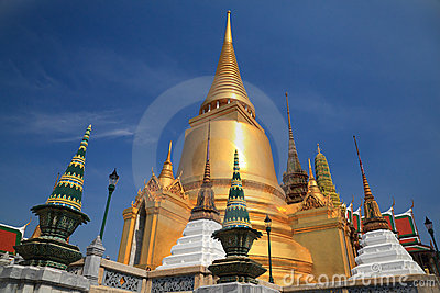 Wat pra kaew Grand palace, Bangkok,Thailand