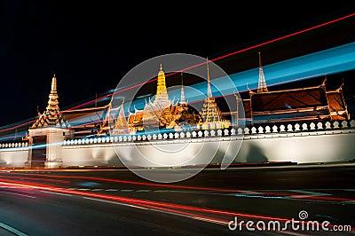 Wat Pra Keaw with the light, Thailand