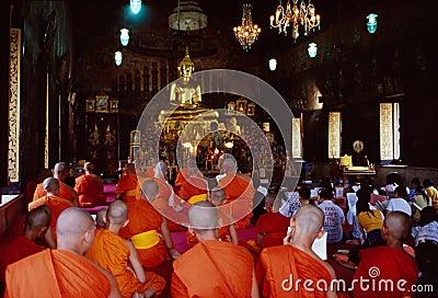 Wat Rakhang Editorial Image