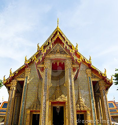 Free Wat Ratchabophit At Bangkok , Thailand Stock Photos - 19707443