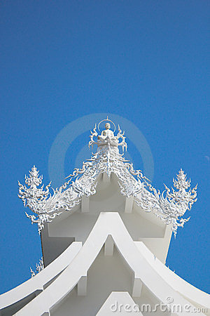 Free Wat Rong Khun - The White Temple Stock Images - 23334534