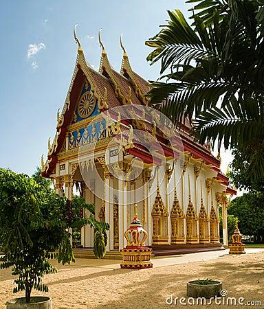 Free Wat Suwan Kuha Temple Royalty Free Stock Photos - 8189128