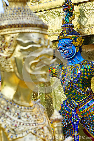 Wat szczegóły Phra Kaew
