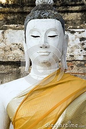 Free Wat Yai Chai Mongkol Buddha Stock Photography - 1851062