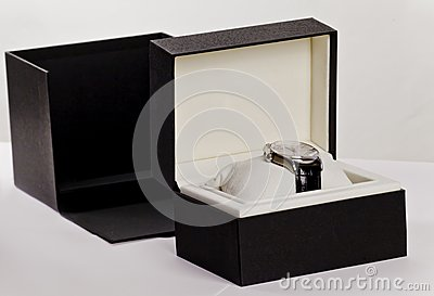 Watch in a box