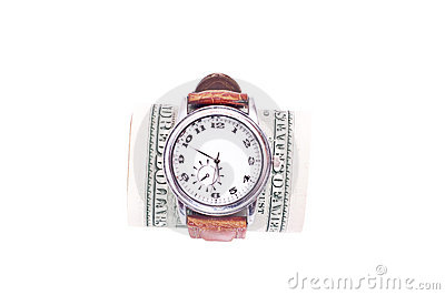 Watch and dollars