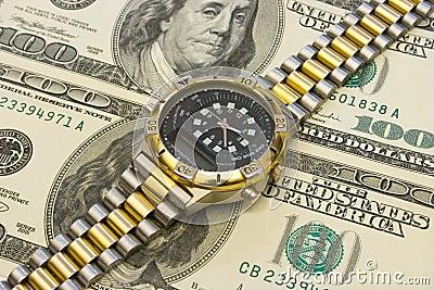Watch on dollars