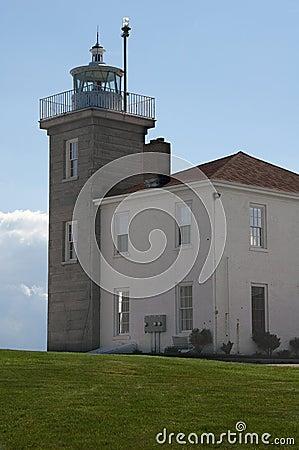 Watch Hill Light Westerly RI Vertical