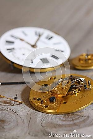 Watch mechanism D