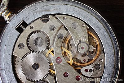 Watch mechanism, mechanical pocket
