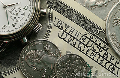 Watch and money