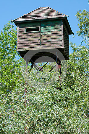 Free Watch Tower In Danubes S Delta Royalty Free Stock Photography - 24634547