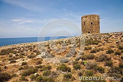 Watch tower, Sardinia, Italy