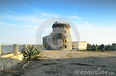 Watch tower in Spain