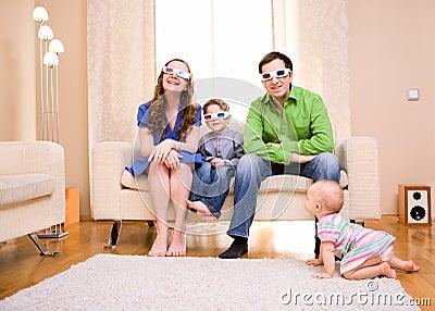 Watching 3D Movie