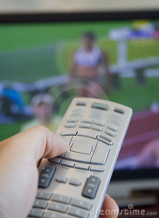Watching olympic games on tv