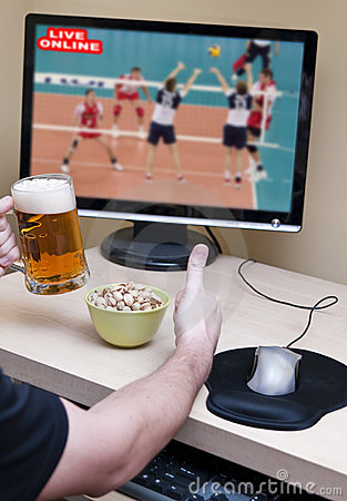 Watching sport online