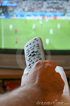 Free Watching The Game Royalty Free Stock Image - 5561706