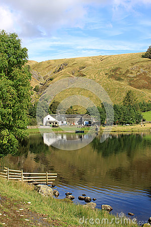 Watendlath and Tarn, Lake District, Cumbria.