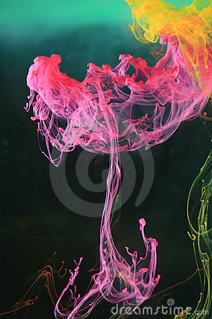 Free Water Abstract Colours Royalty Free Stock Photos - 2662868