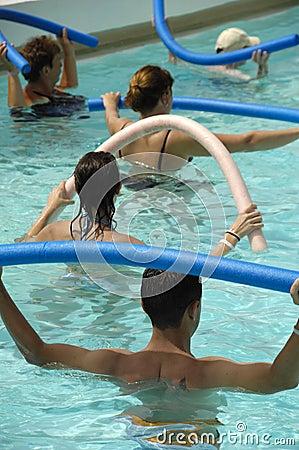Free Water Aerobic Stock Image - 2862891