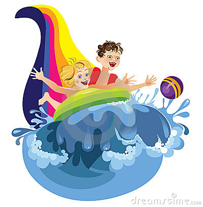 Water Attraction Royalty Free Stock Photos - Image: 8613268