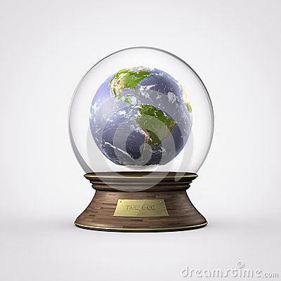 Water ball planet earth