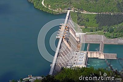 Water barrier dam