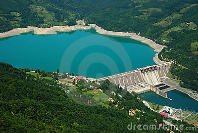 Water barriere dam