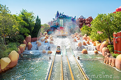 Water Based Ride At Universal Studios Islands Of Adventure ...