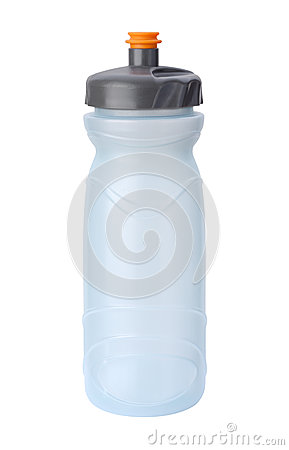 Water Bottle Isolated with clipping path