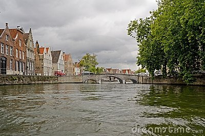 Water Canals in Brugge