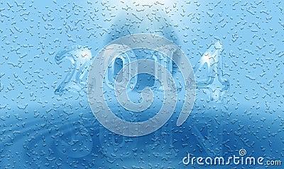 Water 2014 card