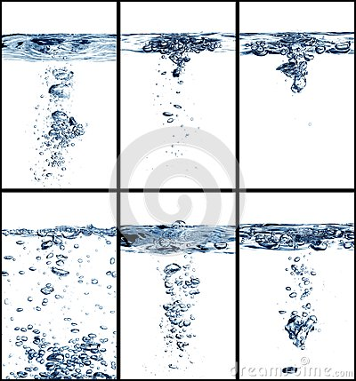 Water collage