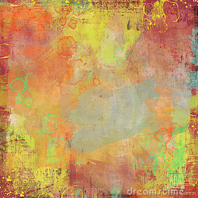 Water color painted Artist background