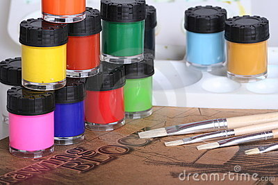 Water Color Painting Equipment