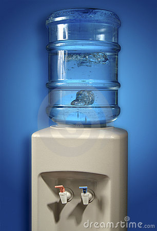 Free Water Cooler. Stock Image - 5565281