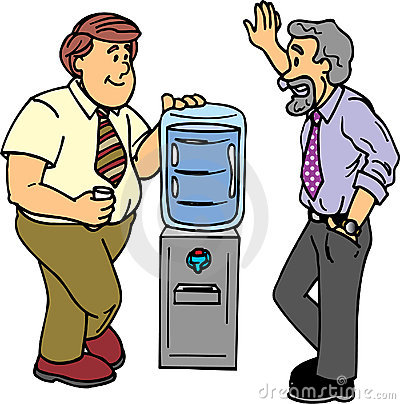 Water cooler chat