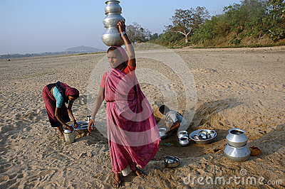 Water Crisis Editorial Photography
