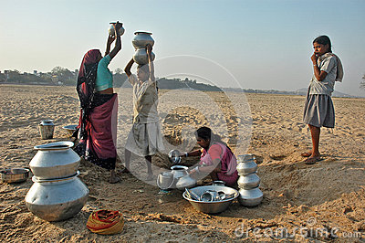 Water Crisis Editorial Stock Photo