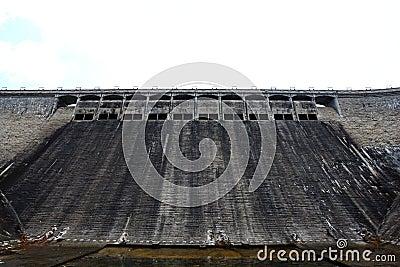 Water dam in Hong Kong