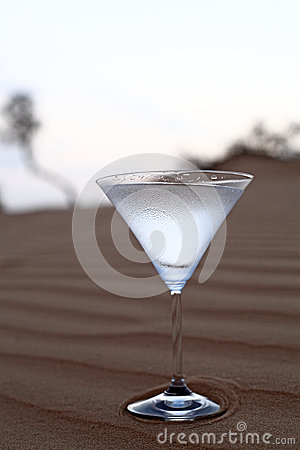 Water in the desert, the most expensive