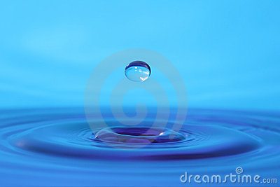 Water drop.