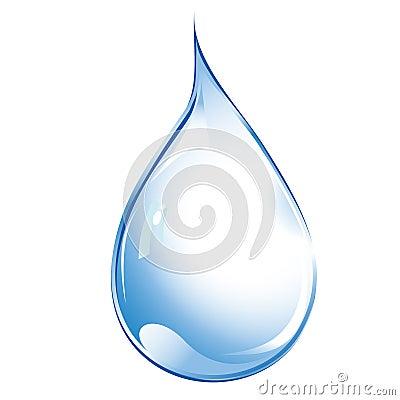 Free Water Drop Royalty Free Stock Photos - 22313118