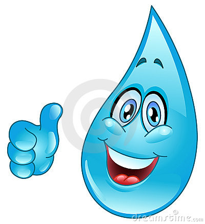 Free Water Drop Cartoon Royalty Free Stock Images - 18589379