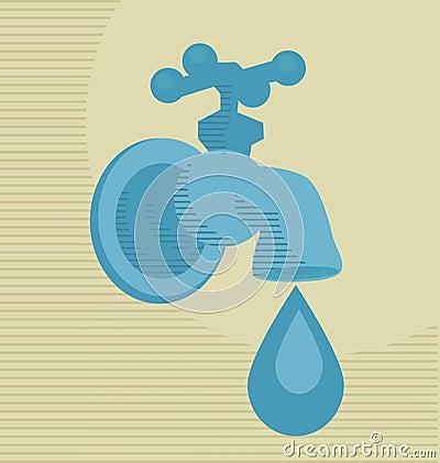 Water drop concept