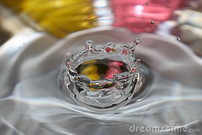 Water drop crown